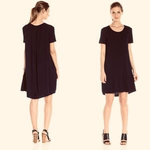 Splendid black supima cotton shift dress